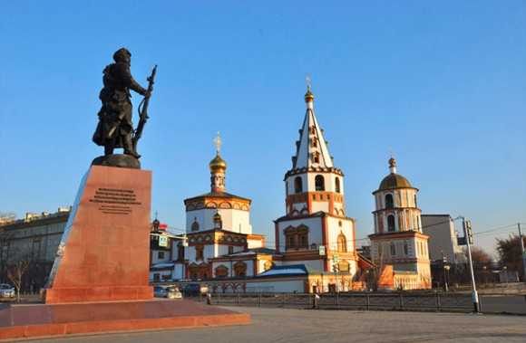 Bogoyavlensky cathedral, irkutsk, Siberia. (Vlatka Jovanovic)