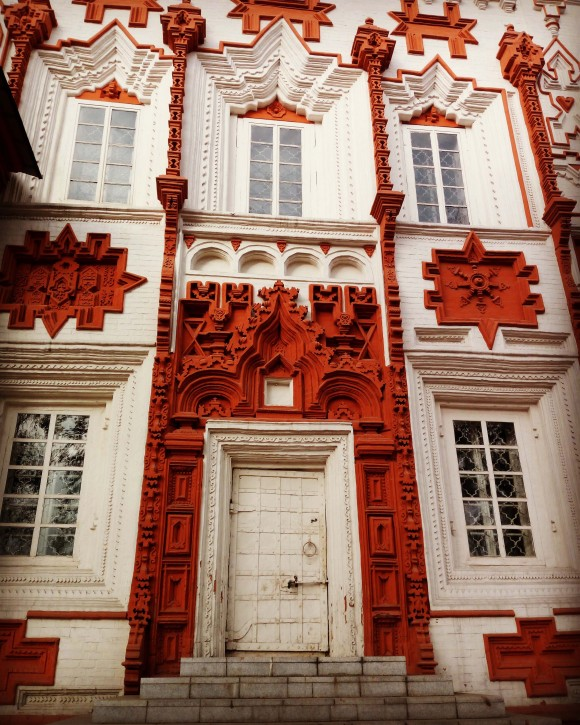 Cross church doors, Irkutsk, Siberia. (Vlatka Jovanovic)
