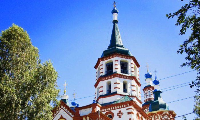 Cross church Irkutsk, Siberia. (Vlatka Jovanovic)