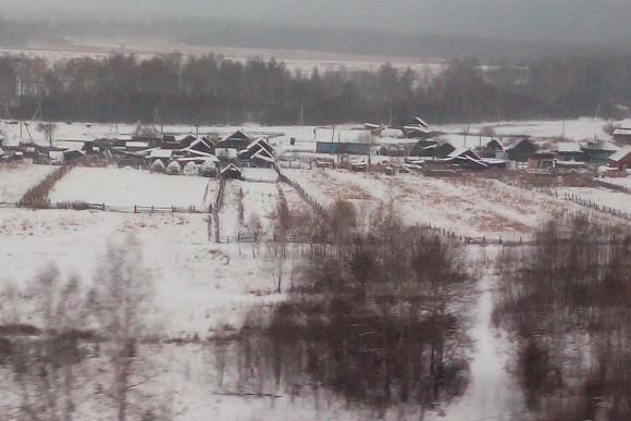 Siberian landscape. Vlatka Jovanovic)