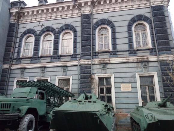 Old military vehicles in Irkutsk, Siberia. (Vlatka Jovanovic)