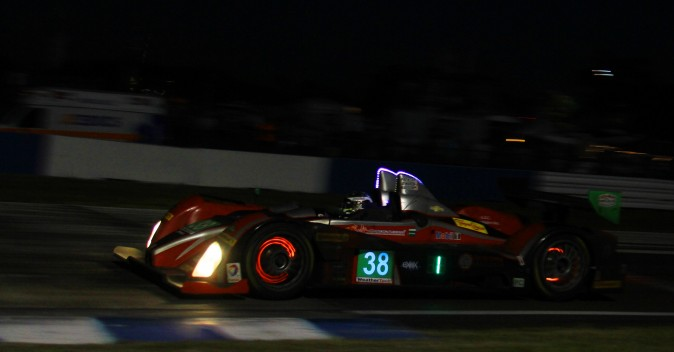 Patricio O'Ward in the #38 Performance Tech Oreca still leads in PC. (Chris Jasurek/Epoch Times)