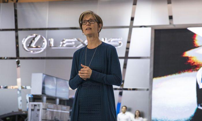 Jennifer Barron (Courtesy of Lexus/Toyota Canada)