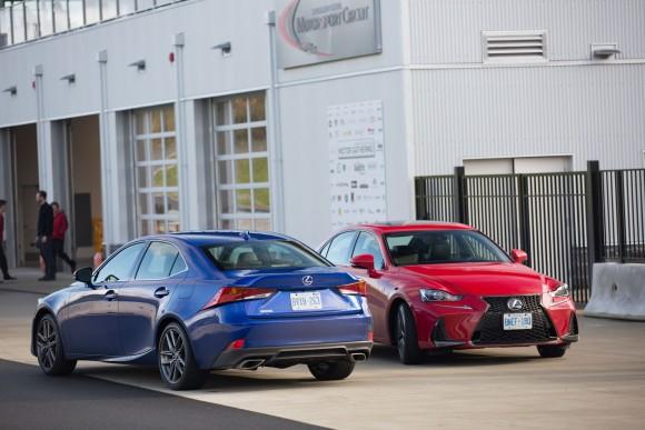 Lexus IS (Courtesy of Lexus/Toyota Canada)