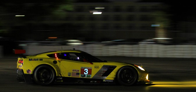 Antonio Garcia drives to victory in the #3 Corvette. (Chris Jasurek/Epoch Times)