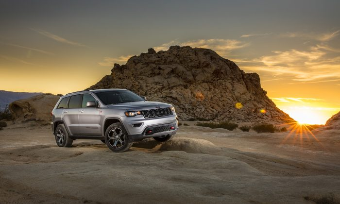 2017 Jeep Grande Cherokee. (Courtesy of Jeep)