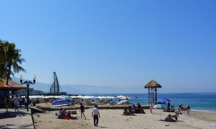 Puerto Vallarta Famous Los Muertos Beach