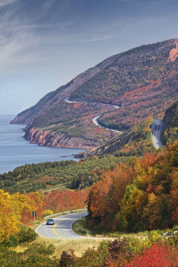 Cape Breton's famous Cabot Trail. (Courtesy of Cape Breton Island)
