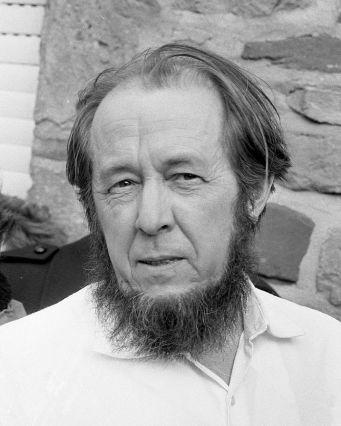 Aleksandr Solzhenitsyn (Public Domain)