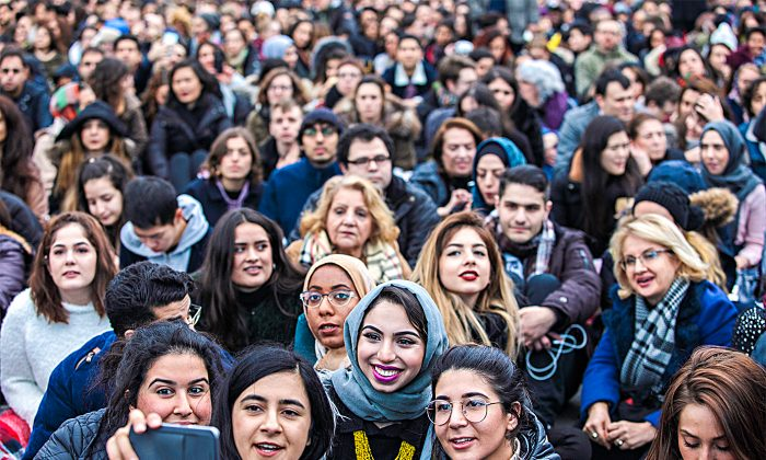 The United Kingdom has seen historically high immigration levels in recent years and has faced some challenges with integrating newcomers into British society. Discussing these problems, however, is near-taboo in some corners of society. (Jack Taylor/Getty Images)