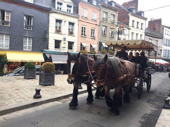 A scenic tour in Honfleur. (Janna Graber)