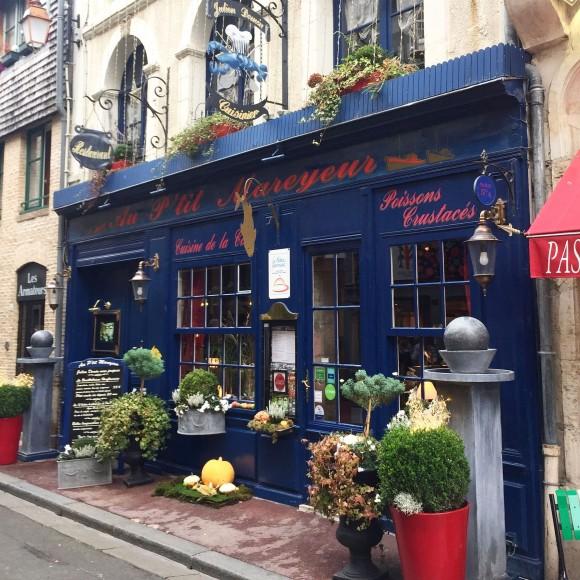 A store in Honfleur. (Janna Graber)
