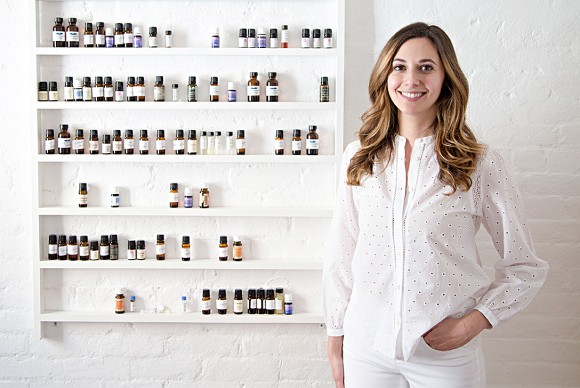 Massage therapist Rachel Beider at her studio in New York on March 20. Beider employs 48 therapists and plans to hire more. (Benjamin Chasteen/Epoch Times)