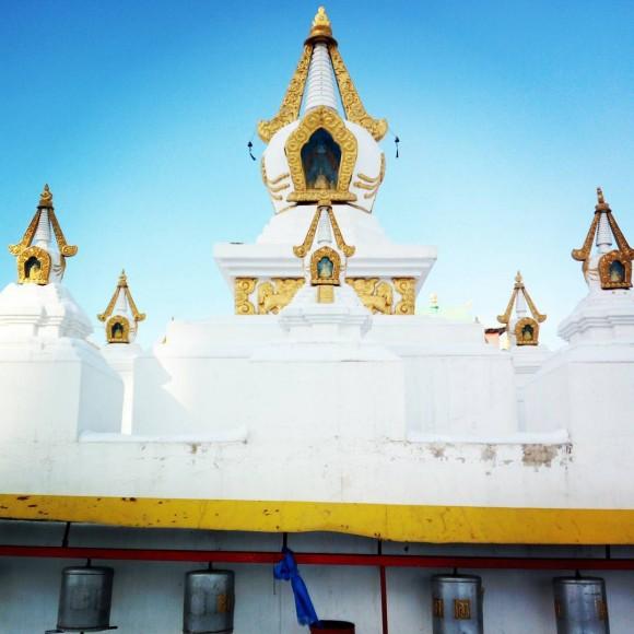 Gandantegchinlen monastery Ulaanbaatar. Vlatka Jovanovic)