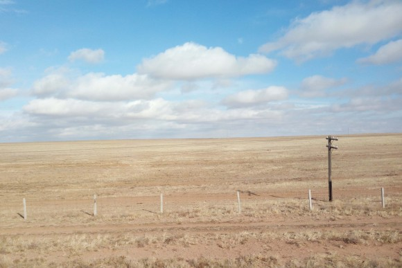 A view of the Gobi Desert, Mongoila. (Vlatka Jovanovic)