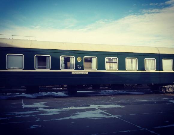 Trans-Mongolian train. (Vlakta Jovanovic)