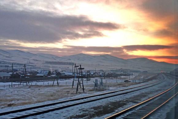 Dawn in Mongolia. (Vlatka Jovanovic)