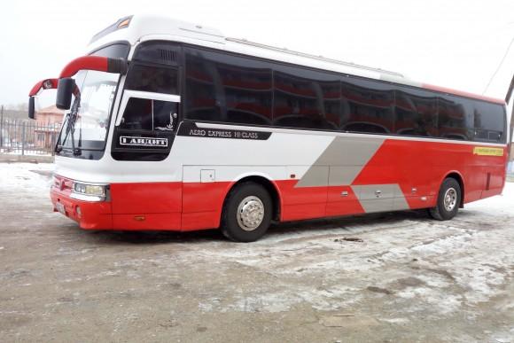 Our bus from Ulan Ude to Ulaanbaatar. (Vlatka Jovanovic)