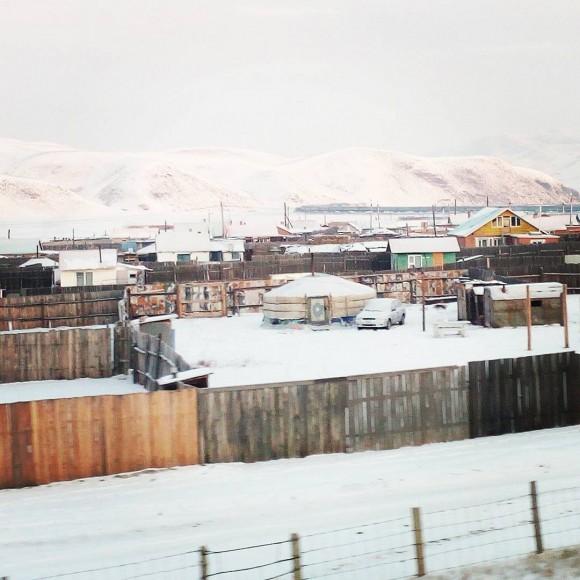 Mongolian Village. (Vlatka Jovanovic)