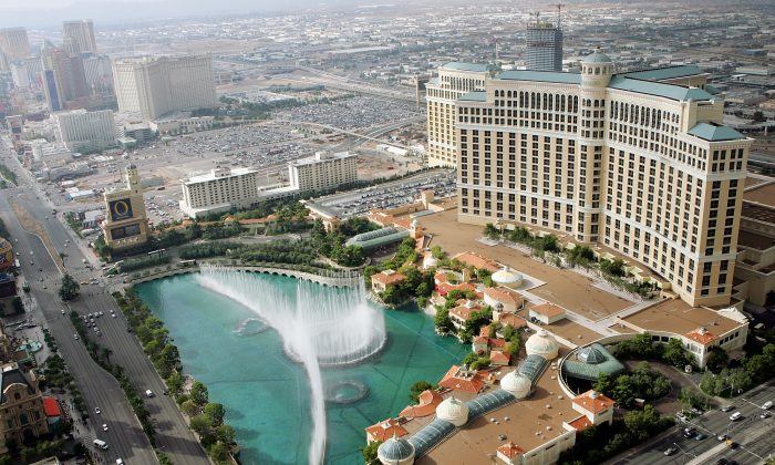 The Bellagio resort in Las Vegas in this file photo.  (Ethan Miller/Getty Images)