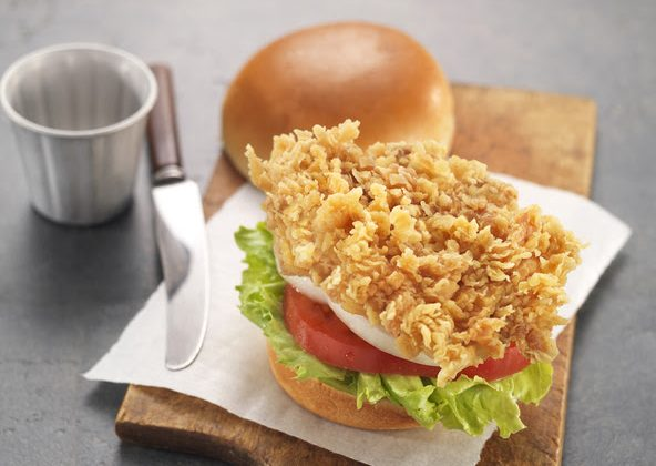 Fried Chicken Sandwich (Courtesy of bbq Chicken)
