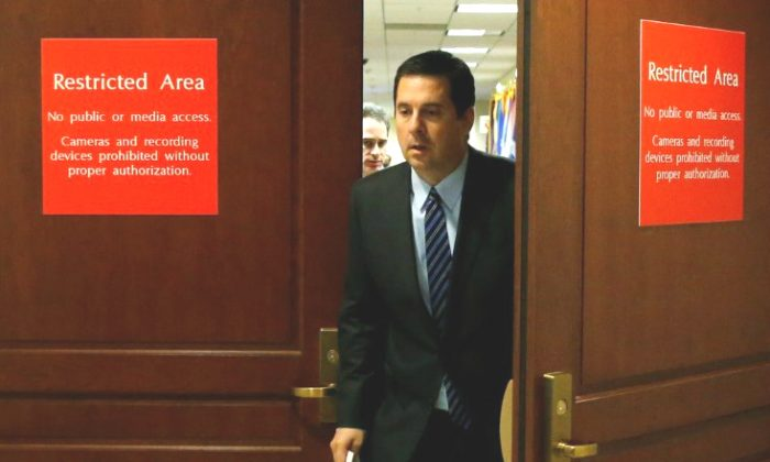House Permanent Select Committee on Intelligence Chairman Representative Devin Nunes. (REUTERS/Jonathan Ernst)