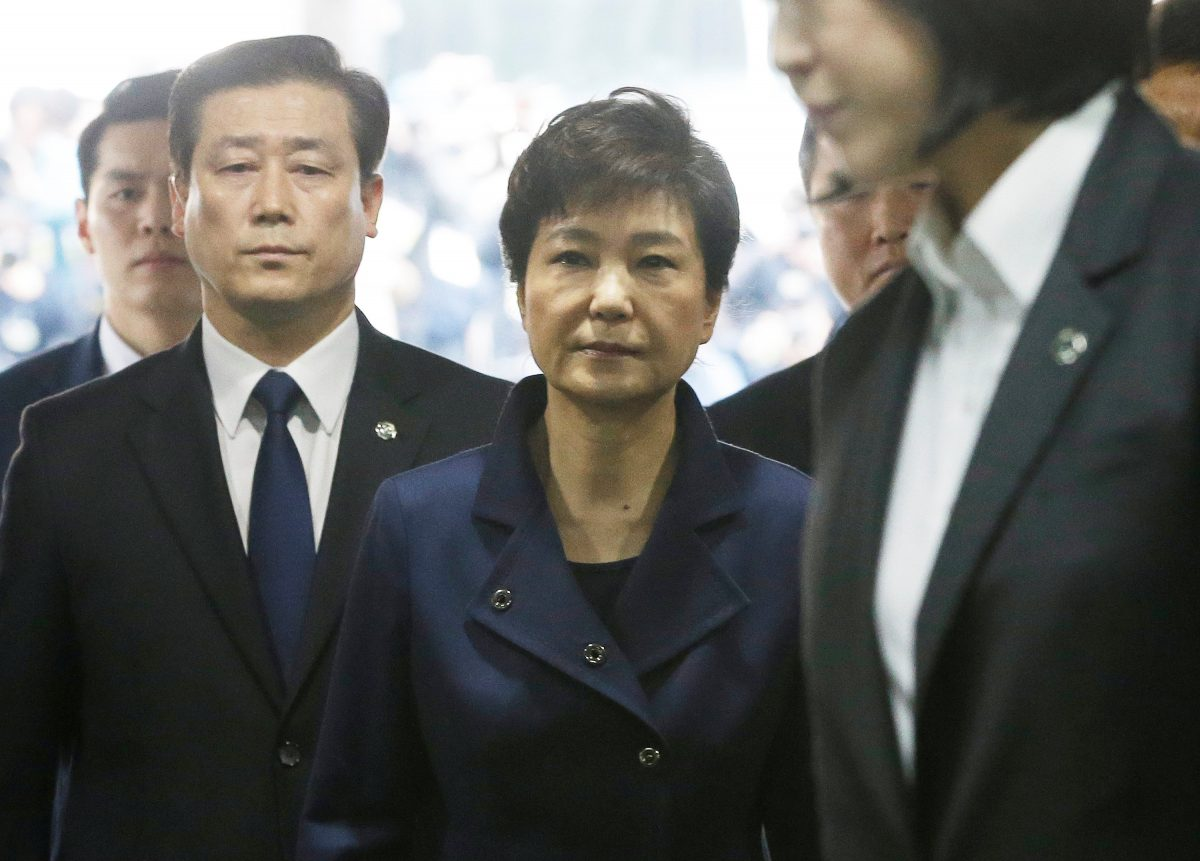 Ousted South Korean President Park Geun-hye