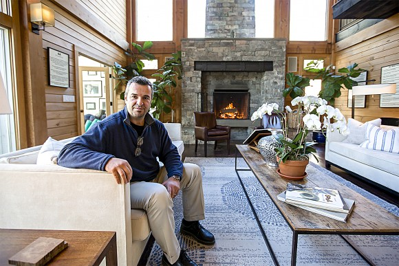Nicholas Kardaras, executive director of residential addiction treatment center The Dunes, at the center in East Hampton, N.Y., on March 23. (Samira Bouaou/Epoch Times)