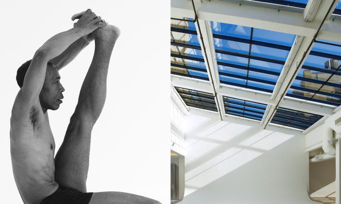 Instructor Douglass Stewart and Go-Studios Penthouse. (Sean Klingelhoefer and  Halley Ganges)