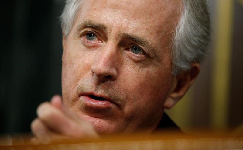 Senate Foreign Relations Committee Chairman Bob Corker in Washington on  Jan. 11, 2017. (REUTERS/Kevin Lamarque)