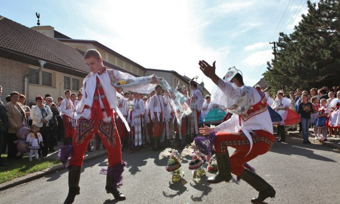 Verbunk dancers performing. (Courtesy Czech Tourism)