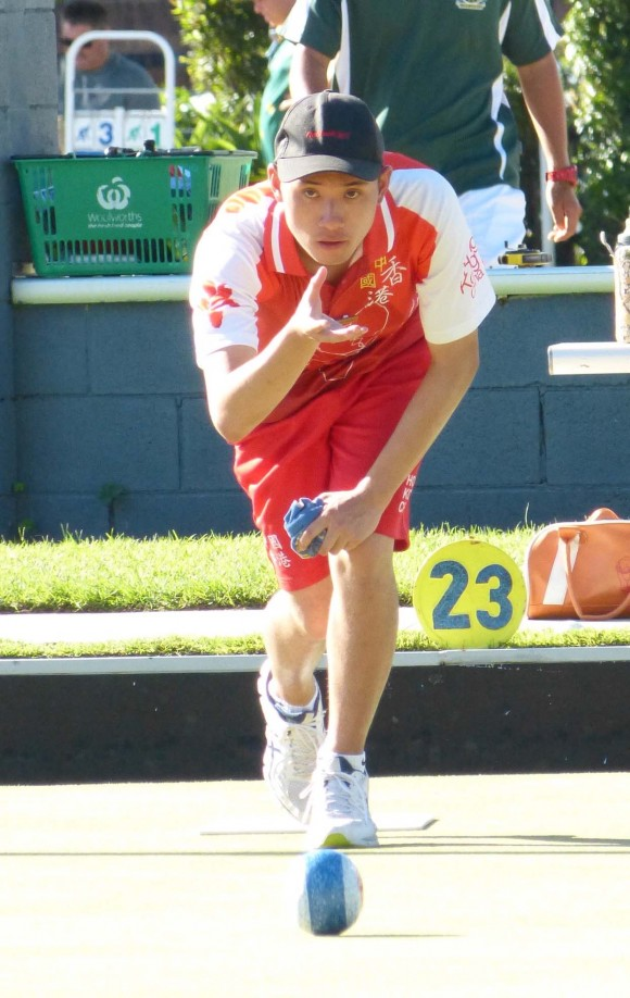 Represented Hong Kong, youngster Martin Sham was the best performer during the World Youth Championship. He won four games in the singles and finished seventh in a group of 11. (David Allen)