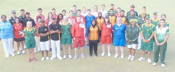 42 players from 14 bowling nations to attend the 2017 World Youth Championship at Broadbeach Bowls and Community Club in Queensland, Australia, (David Allen)