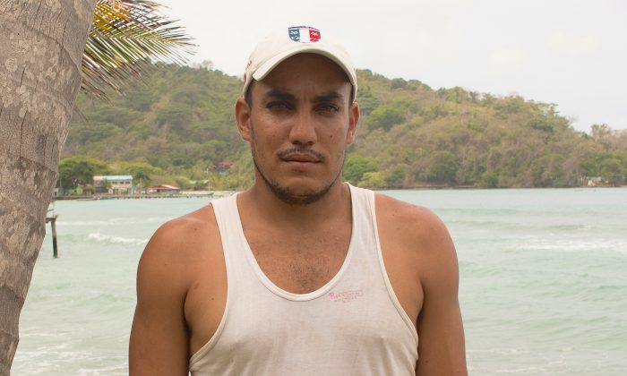 Rafael Acosta Díaz began traveling from Cuba to the United States on May 6, 2016. He is now broke and stuck in a fishing village in Colombia. (Joe Parkin Daniels)