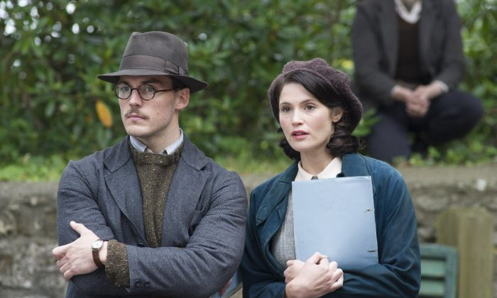 "Sam Claflin and Gemma Arterton  in ""Their Finest."" (Nicola Dove)"