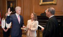 Trump's Supreme Court Justice Pick Gorsuch Sworn In