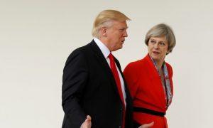 Trump Calls on British PM to Focus More on Radical Islamic Terror