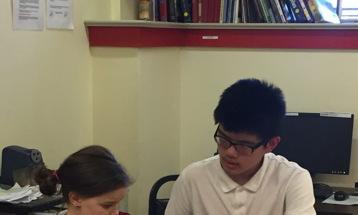 Housing Families, Inc. offers connections to tutoring services. (Housing Families, Inc.)