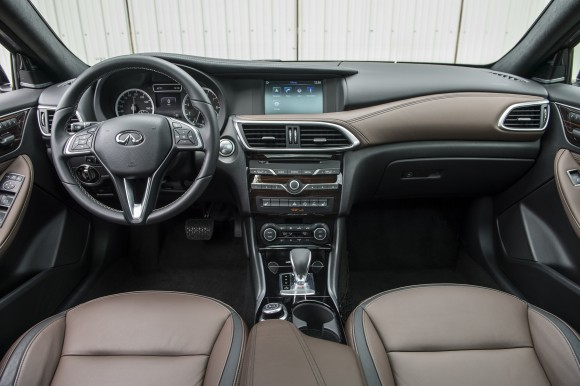 Inside the QX30. (Courtesy of Infiniti)