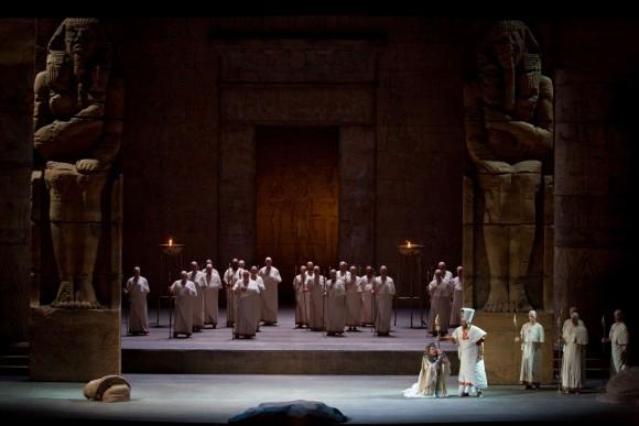 "A scene from Verdi's ""Aida"". (Marty Sohl/Metropolitan Opera)"