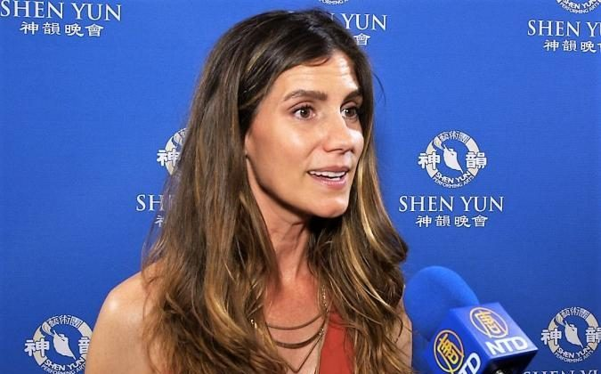 Hollywood Actress: Shen Yun is 'Absolutely Stunning and Really Dynamic'