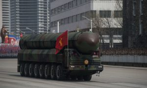 China-Made Trucks Used in N. Korea Parade to Show Missiles