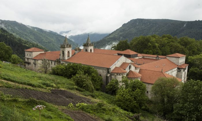 Hotel Parador San Estevo de Ribas de Sil, a reconverted ancient monastery in Galicia. (Carole Jobin)
