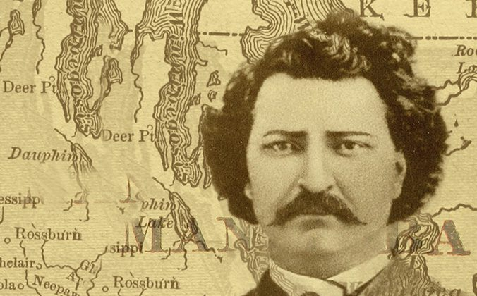 "Harry Somers'"" Louis Riel.""  A Canadian Opera Company co-production with Canada's National Arts Centre."