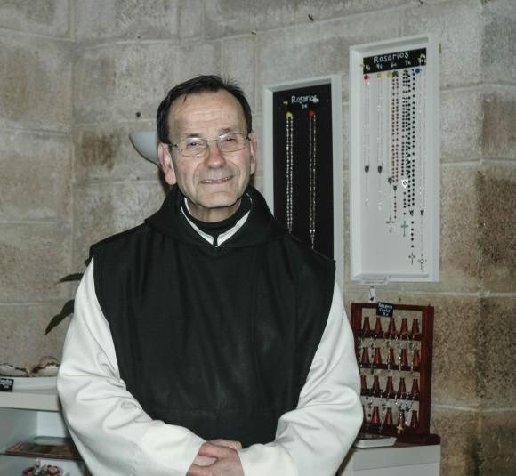 Father Alonso of the Oseria Monastery in Central Galicia. (Carole Jobin)