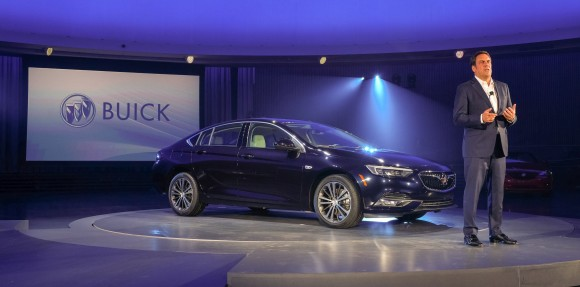 Buick Regal Sportback with Mark Reuss(Courtesy of Buick)