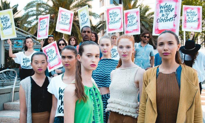 "Many fashionistas will be asking ""Who made my clothes?"" during Fashion Revolution Week. A hundred global brands feature in Fashion Revolution's Transparency Index, where brands are ranked according to how open they are about their supply chains. (Bryan Berry)"