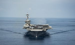 US Carrier Group Heads for Korean Waters, Chinese Regime Calls for Restraint
