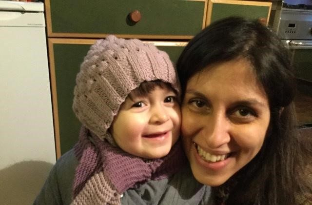 Nazanin Zaghari-Ratcliffe and her daughter Gabriella pose for a photo in London, Britain on Feb. 7, 2016. (Karl Brandt/Courtesy of Free Nazanin campaign/Handout via Reuters)