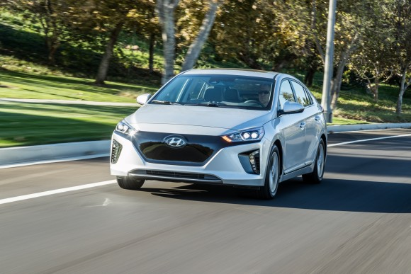 2017 Hyundai Ioniq Electric. (Courtesy of Hyundai)